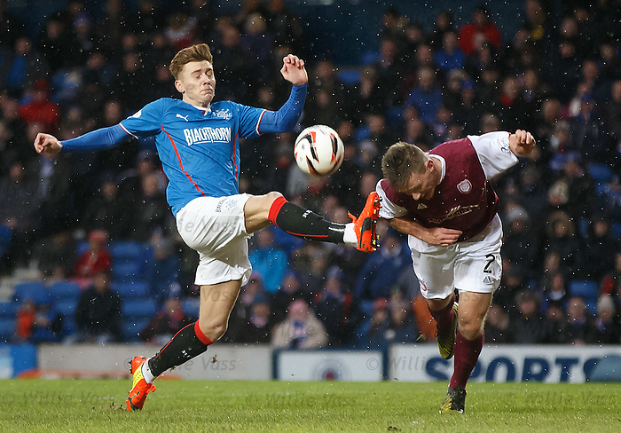 Lewis Macleod and Ricky Little
