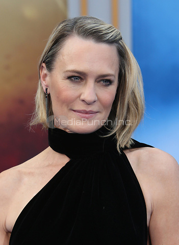 HOLLYWOOD, CA - MAY 25: Robin Wright, at the Wonder Woman Los Angeles Film Premiere at The Pantages in Hollywood, California on May 25, 2017. Credit: Faye Sadou/MediaPunch