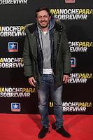 Juan Pena attends Run All Night `Una noche para sobrevivir´ film premiere in Madrid, Spain. March 24, 2015. (ALTERPHOTOS/Victor Blanco) /NORTEphoto.com