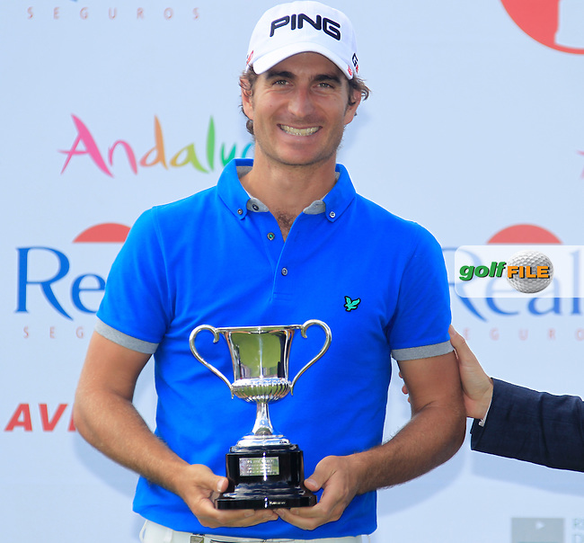 Alejandro Canizares (ESP) joint 2nd after Sunday's Final Round of the Open de Espana at Real Club de Golf de Sevilla, Seville, Spain, 6th May 2012 (Photo Eoin Clarke/www.golffile.ie)