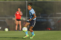 Piscataway, NJ - Saturday July 23, 2016: Tasha Kai during a regular season National Women's Soccer League (NWSL) match between Sky Blue FC and the Washington Spirit at Yurcak Field.