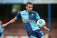 Nick Freeman of Wycombe Wanderers during the pre season friendly match between Aldershot Town and Wycombe Wanderers at the EBB Stadium, Aldershot, England on 22 July 2017. Photo by Andy Rowland.