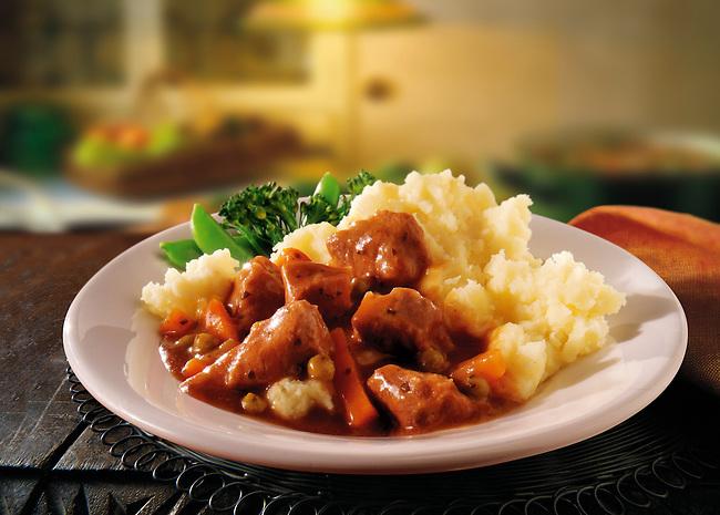 British Food - Braised Lamb Casserole