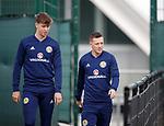 09.10.2018 Scotland training, Oriam: Jack Hendry and Callum McGregor