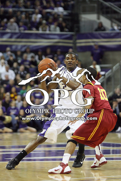 Mar 05, 2011:  Washington's #23 C. J. Wilcox brings the basketball down court against USC.  USC defeated Washington 62-60 at Alaska Airlines Arena Seattle, Washington...