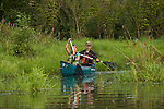 Katie & Dave paddling the Big Four Corners Wetlands in the Upper Columbia Slough