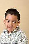 portrait of boy age 4 or 5 preschool age vertical