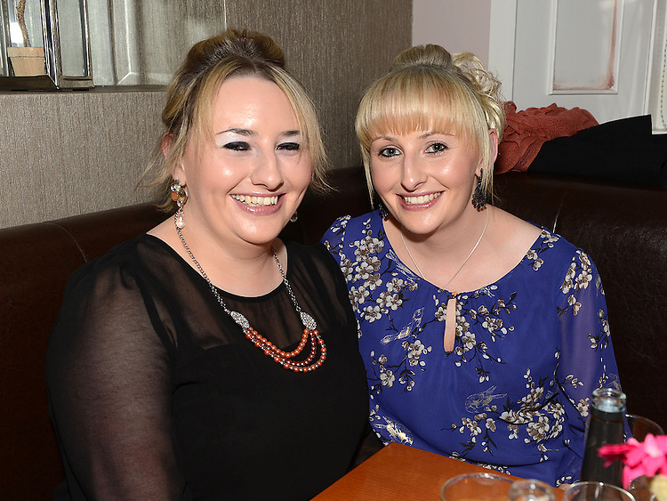 Melissa and Miranda Campbell pictured at the official opening of the Fisherman's in Mell. Photo:Colin Bell/pressphotos.ie