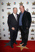 LOS ANGELES - FEB 29:  David Frei, Brian Baumgartner at the Beverly Hills Dog Show Presented by Purina at the LA County Fairplex on February 29, 2020 in Pomona, CA