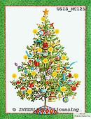 Ingrid, CHRISTMAS SYMBOLS, WEIHNACHTEN SYMBOLE, NAVIDAD SÍMBOLOS, paintings+++++,USISMC12S,#XX# vintage