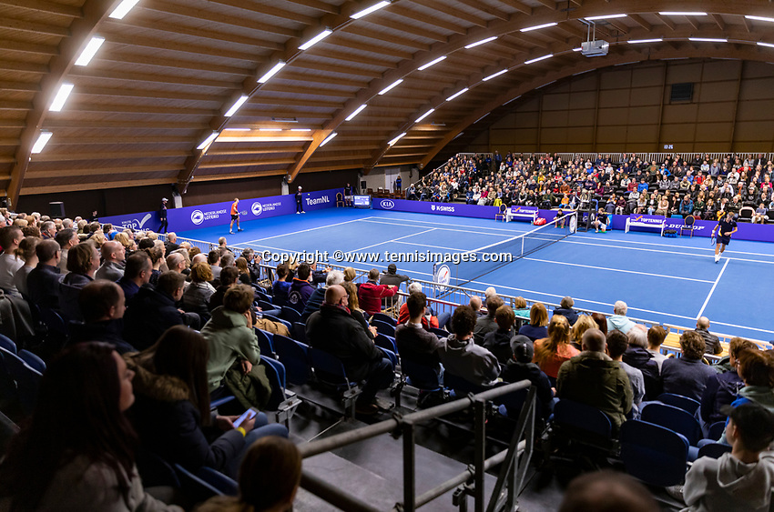 Alphen aan den Rijn, Netherlands, December 16, 2018, Tennispark Nieuwe Sloot, Ned. Loterij NK Tennis, Final men: overall vieuw<br /> Photo: Tennisimages/Henk Koster