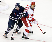 Blake Boddy (Toronto - 9), Matt Ronan (BU - 20) - The Boston University Terriers defeated the visiting University of Toronto Varsity Blues 9-3 on Saturday, October 2, 2010, at Agganis Arena in Boston, MA.