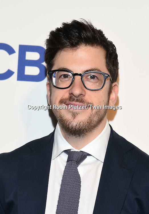 cast of &quot;The Great Indoors&quot;, Christopher Mintz-Plasse, attends the CBS Upfront 2016-2017 on May 18, 2016 at the Oak Room at the Plaza Hotel in New Yorik, New York, USA.<br /> <br /> photo by Robin Platzer/Twin Images<br />  <br /> phone number 212-935-0770