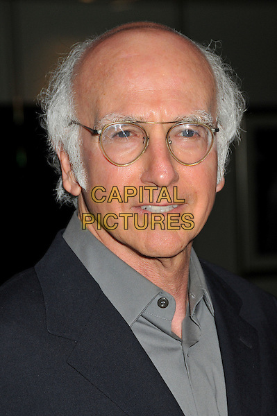 "LARRY DAVID .""Whatever Works"" Los Angeles Premiere held at the Pacific Design Center, West Hollywood, CA, USA..June 8th, 2009.headshot portrait glasses black grey gray.CAP/ADM/BP.©Byron Purvis/AdMedia/Capital Pictures."