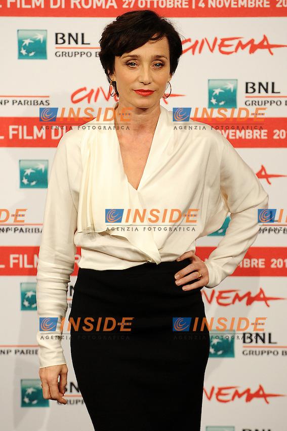"Kristin SCOTT THOMAS.""La femme du cinquieme"".Roma 30/10/2011 Auditorium.Festival Internazionale del Film di Roma.Foto Andrea Staccioli Insidefoto"