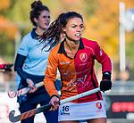 Laren - Marlena Rybacha (OR) tijdens de Livera hoofdklasse  hockeywedstrijd dames, Laren-Oranje Rood (1-3).  COPYRIGHT KOEN SUYK
