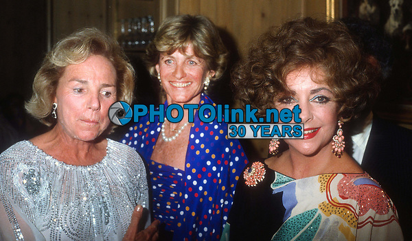 Ethel Kennedy Jean Kennedy Smith Elizabeth Taylor 1990<br /> Photo By John Barrett/PHOTOlink.net