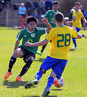 Action from the Chatham Cup football semifinal between Cashmere Technical and Onehunga Sports at Garrick in Christchurch, New Zealand on Sunday, 27 August 2017. Photo: Dave Lintott / lintottphoto.co.nz