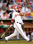 6 June 2007: Washington Nationals outfielder Ryan Church in action against the Pittsburgh Pirates at RFK Stadium in Washington, DC. The Nationals defeated the Pirates 6-5 in the second game of their 3-game series...Mandatory Credit: Ed Wolfstein Photo