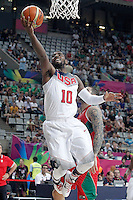 USA's Kyrie Irving during 2014 FIBA Basketball World Cup Round of 16 match.September 6,2014.(ALTERPHOTOS/Acero)