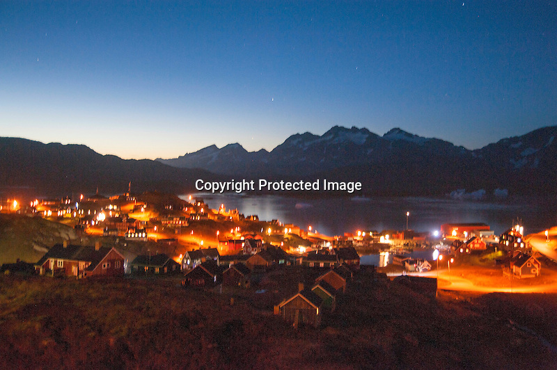 Tasiilaq Night Greenland