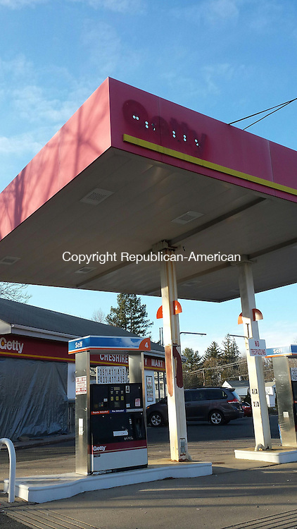 CHESHIRE, CT - Jan. 20, 2015 - 01202015LX01 - This gas station and conveninence store is expected to reopen in the spring after undergoing renovations.
