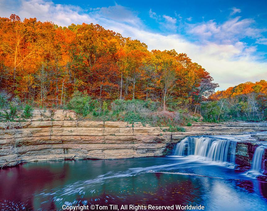 Lower Cataract Falls, Cataract Falls State Park, Indiana