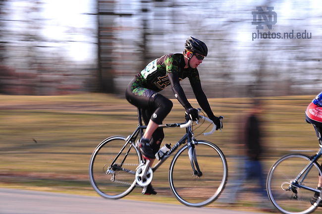 The Notre Dame Cycling Team hosted a criterion at Rum Village Park in South Bend Sunday March 22, 2009...Photo by Matt Cashore/University of Notre Dame