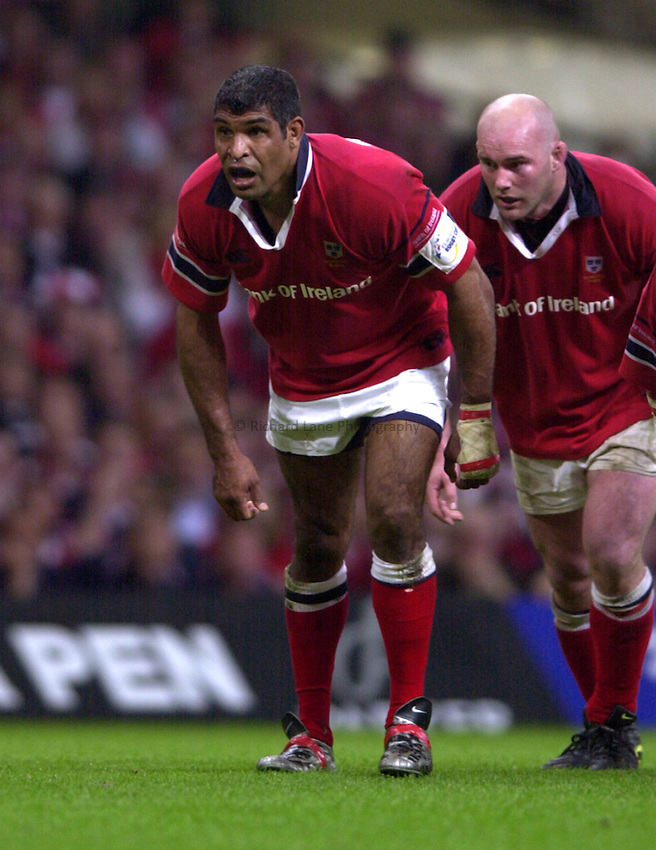 Photo: Richard Lane..Leicester Tigers v Munster. Heineken Cup Final at the Millennium Stadium. 25/05/2004..Jim Williams.