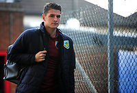 Burnley's Ashley Westwood arrives at Selhurst Park<br /> <br /> Photographer Ashley Crowden/CameraSport<br /> <br /> The Premier League - Crystal Palace v Burnley - Saturday 13th January 2018 - Selhurst Park - London<br /> <br /> World Copyright &copy; 2018 CameraSport. All rights reserved. 43 Linden Ave. Countesthorpe. Leicester. England. LE8 5PG - Tel: +44 (0) 116 277 4147 - admin@camerasport.com - www.camerasport.com