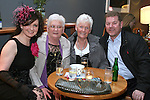 Dara Caffrey, Ann Caffrey, Nora Grant and Allo Callaghan at the Burlesque Show in the Droichead Arts Centre...Photo NEWSFILE/Jenny Matthews.(Photo credit should read Jenny Matthews/NEWSFILE)....This Picture has been sent you under the condtions enclosed by:.Newsfile Ltd..The Studio,.Millmount Abbey,.Drogheda,.Co Meath..Ireland..Tel: +353(0)41-9871240.Fax: +353(0)41-9871260.GSM: +353(0)86-2500958.email: pictures@newsfile.ie.www.newsfile.ie.FTP: 193.120.102.198.