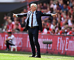 Southampton Manager Mark Hughes during the FA cup semi-final match at Wembley Stadium, London. Picture date 22nd April, 2018. Picture credit should read: Robin Parker/Sportimage
