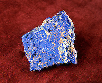 AZURITE - SECONDARY (SUPERGENE) COPPER ORE<br /> Basic Copper Carbonate<br /> Cu3(CO3)2(OH)2<br /> Monoclinic-prismatic