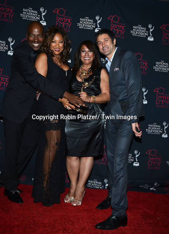 The Talk hair winners attends the 40th Annual Daytime Creative Arts Emmy Awards on June 14, 2013 at the Westin Bonaventure Hotel in Los Angeles, California.