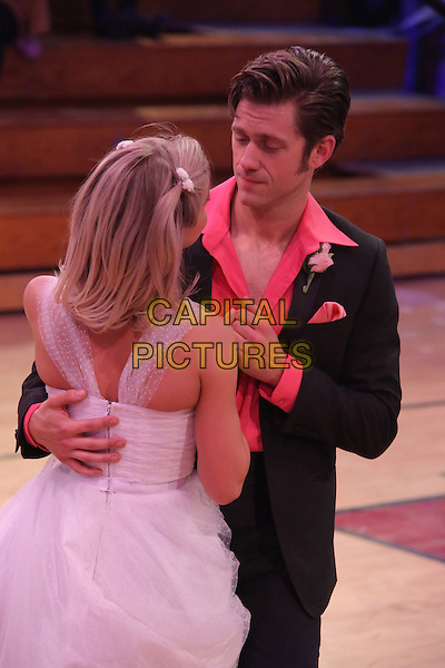 Grease Live! (2016) <br /> Julianne Hough (Sandy), Aaron Tveit (Danny Zuko)<br /> *Filmstill - Editorial Use Only*<br /> FSN-B<br /> Image supplied by FilmStills.net