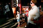 July 2010 Jaroslawiec, Poland<br /> <br /> Jaroslawiec  is a small sea side fishermen's village in the  Slawno County, West Pomeranian Voivodeship, in north-western Poland.<br /> The village has a population of 329 . During summer season over 5000 people visit and spend their holidays here.<br /> <br /> Photo: Ewa Meissner / Napo Images<br /> This photograph may be published only  when its caption does not offend<br /> people appearing on the photograph<br /> <br /> Zdjecie moze byc uzyte w prasie gdy sposob jego wykorzystania oraz podpis nie obrazaja osob znajdujacych sie na fotografii!!!!!!!!<br /> <br /> lipiec 2010 Jaroslawiec, Polska<br /> <br /> Jaroslawiec jest mala wsia rybacka i rekreacyjno-wypoczynkowa polozona na wybrzezu Morza Baltyckiego, na wschodnim krancu Zatoki Pomorskiej, na Przyladku Jaroslawieckim. <br /> Wies posiada 329 mieszkancow. W sezonie letnim wakacje spedza tu ponad 5000 osob.<br /> <br /> Foto: Ewa Meissner / Napo Images
