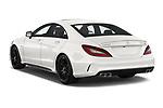 Car pictures of rear three quarter view of 2017 Mercedes Benz CLS-Class AMG-CLS63-4MATIC 4 Door Sedan Angular Rear