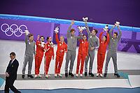 OLYMPIC GAMES: PYEONGCHANG: 12-02-2018, Gangneung Ice Arena, Figure Skating, Team Event Ice Dance Free Dance, Team OAR (2nd place), ©photo Martin de Jong