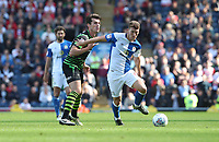 Blackburn Rovers' Richard Smallwood in action during todays match<br /> <br /> Photographer Rachel Holborn/CameraSport<br /> <br /> The EFL Sky Bet League One - Blackburn Rovers v Doncaster Rovers - Saturday August 12th 2017 - Ewood Park - Blackburn<br /> <br /> World Copyright &copy; 2017 CameraSport. All rights reserved. 43 Linden Ave. Countesthorpe. Leicester. England. LE8 5PG - Tel: +44 (0) 116 277 4147 - admin@camerasport.com - www.camerasport.com
