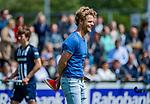 DEN HAAG -  coach Erik van Driel (HDM)   tijdens  de eerste Play out wedstrijd hoofdklasse heren ,  HDM-HCKZ (1-2). COPYRIGHT KOEN SUYK