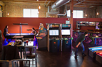 Boxcar Bar and Arcade in Raleigh, North Carolina on Thursday, January 22, 2015. (Justin Cook)