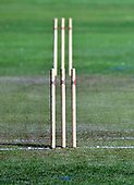 Cricket Scotland - the Citylets Scottish Cup Final between Carlton CC V Heriots CC at Meikleriggs, Paisley (Ferguslie CC) - stumps - picture by Donald MacLeod - 25.08.19 - 07702 319 738 - clanmacleod@btinternet.com - www.donald-macleod.com