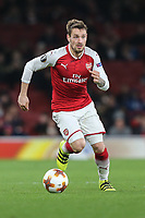 Mathieu Debuchy of Arsenal during the UEFA Europa League match between Arsenal and FC BATE Borisov  at the Emirates Stadium, London, England on 7 December 2017. Photo by David Horn.