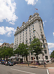 Washington DC; USA: The Willard InterContinental Hotel, 1401 Pennsylvania Avenue.Photo copyright Lee Foster Photo # 23-washdc82451