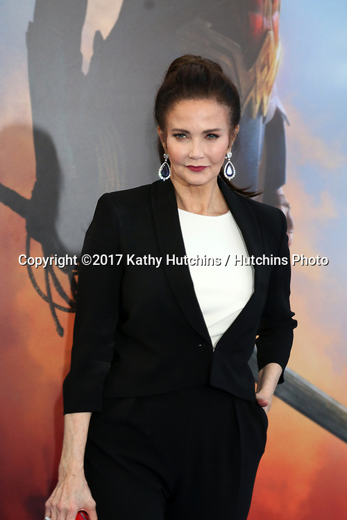 """LOS ANGELES - MAY 25:  Lynda Carter at the """"Wonder Woman"""" Los Angeles Premiere at the Pantages Theater on May 25, 2017 in Los Angeles, CA"""