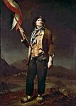 Le chanteur Chenard ici en sans-culotte, tableau par Louis Leopold Boilly 1792   --- The Singer Chenard, as a Sans Culotte, painting by Louis Leopold Boilly, 1792 (French Revolution)