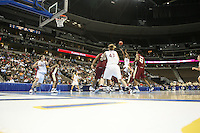 20 March 2006: Candice Wiggins, Brooke Smith, Rosalyn Gold-Onwude, and Kristen Newlin during Stanford's 88-70 win over Florida State in the second round of the NCAA Women's Basketball championships at the Pepsi Center in Denver, CO.