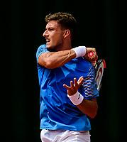 PABLO CARRENO BUSTA (ESP)<br /> <br /> TENNIS - FRENCH OPEN - ROLAND GARROS - ATP - WTA - ITF - GRAND SLAM - CHAMPIONSHIPS - PARIS - FRANCE - 2018  <br /> <br /> <br /> <br /> &copy; TENNIS PHOTO NETWORK