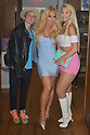 CORAL GABLES, FL - APRIL 10: Gigi Gorgeous (C), fiance Nats Getty (L) and Linsey Donovan (R) poses for picture after a Q&A and book signing to Promotes Her New Book 'He Said, She Said: Lessons, Stories, and Mistakes from My Transgender Journey' at Books and Books on April 10, 2019 in Coral Gables, Florida.  ( Photo by Johnny Louis / jlnphotography.com )