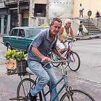 Bicycle deliveries, Diez de Octubre, Habana